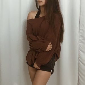 Off the shoulder long sleeve from Free People